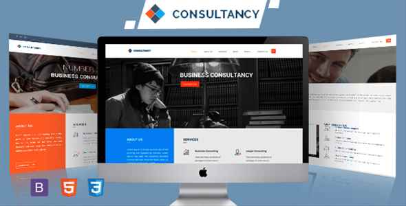 CONSULTANCY Bootstrap Admin Template HTML